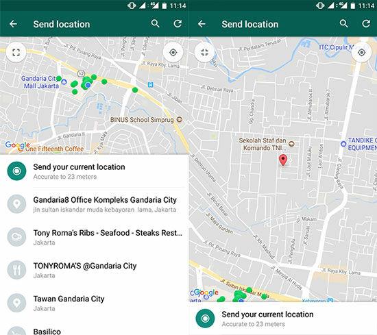 Cara Melacak Lokasi Palsu Di Whatsapp 4