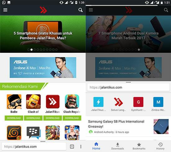 Cara Hack Address Bar Google Chrome Android