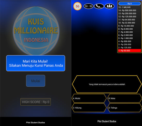 Game Kuis Buatan Indonesia