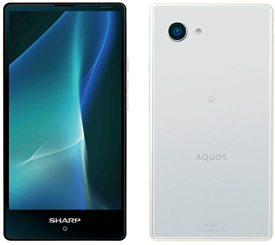 Sharp Aquos Mini, Android Kecil dengan Performa Besar