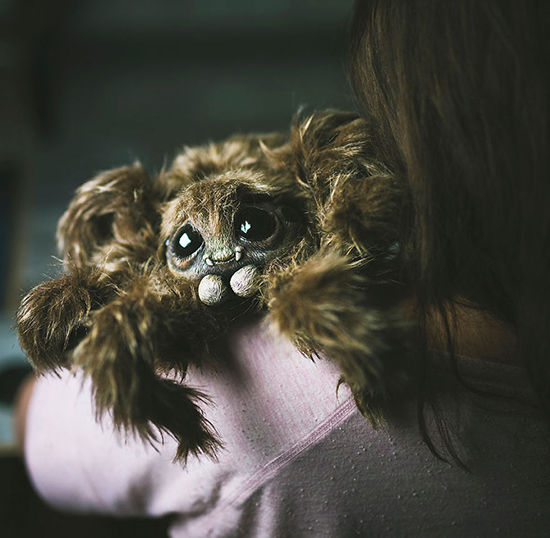 Foto Boneka Hewan Fantasi Lucu Dan Menyeramkan 10