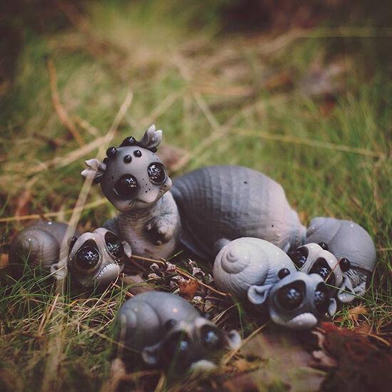 Foto Boneka Hewan Fantasi Lucu Dan Menyeramkan 2