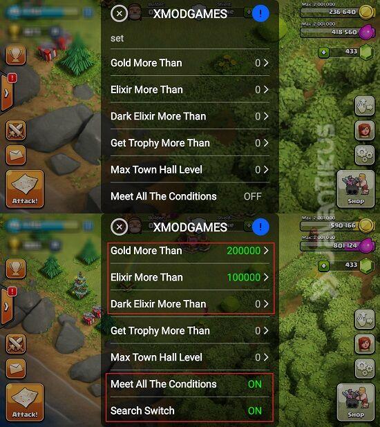 Cara Dapat Loot Besar Di Clash Of Clans Dengan Xmodgames 3