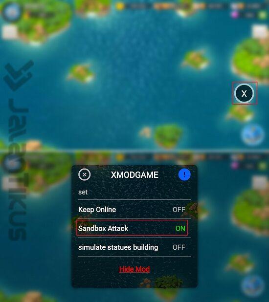 Cara Simulasi Serangan Di Boom Beach Dengan Xmodgames 2