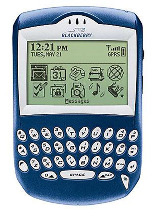 Gadget Paling Berpengaruh Blackberry 6210