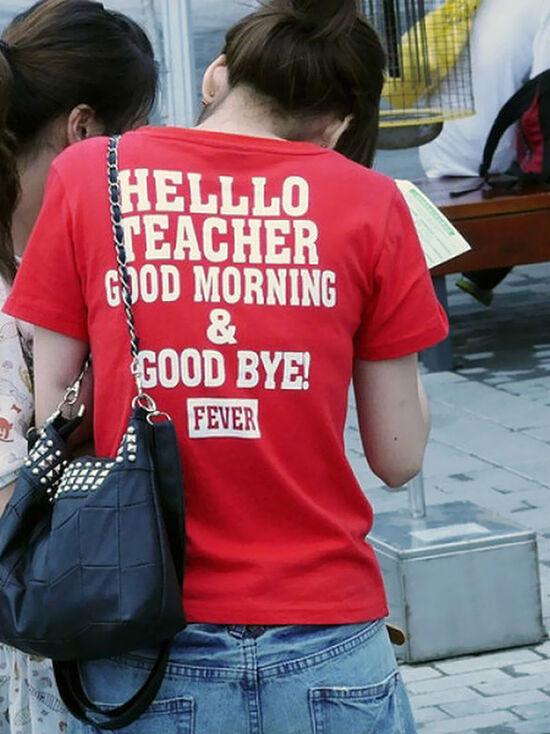 Foto T Shirt Aneh Bahasa Inggris 13