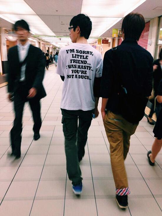 Foto T Shirt Aneh Bahasa Inggris 26