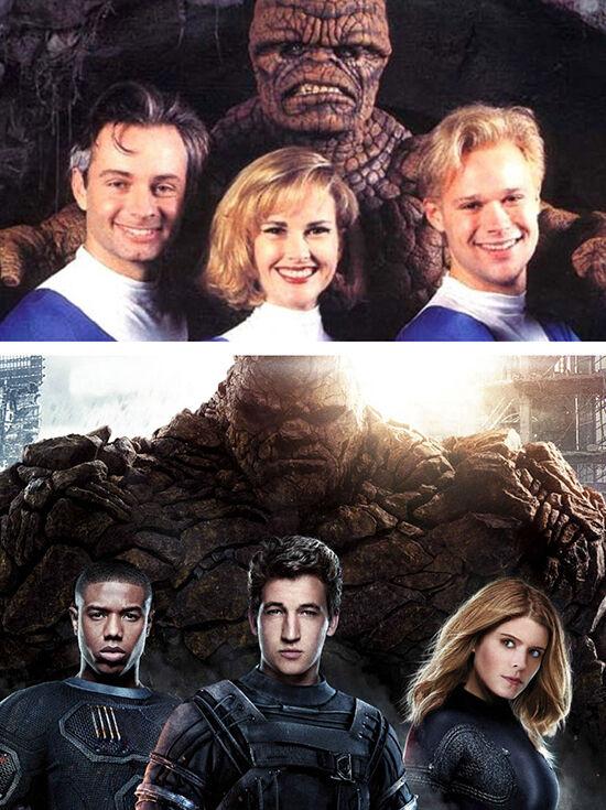 Superhero Dulu Vs Sekarang Fantastic Four