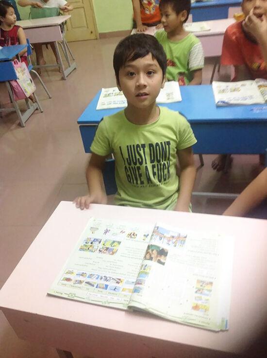 Foto T Shirt Aneh Bahasa Inggris 18