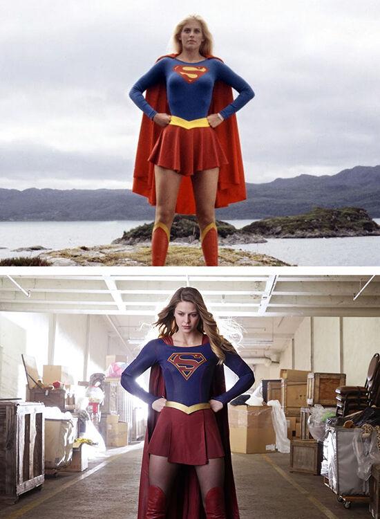 Superhero Dulu Vs Sekarang Supergirl