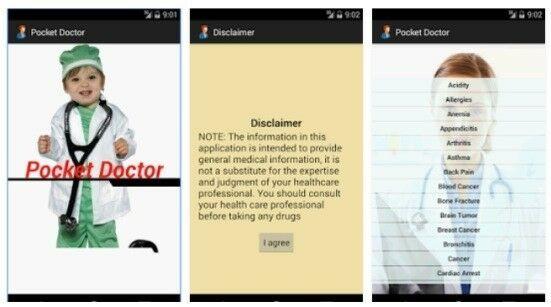 Aplikasi Kesehatan Di Android Pocket Doctor
