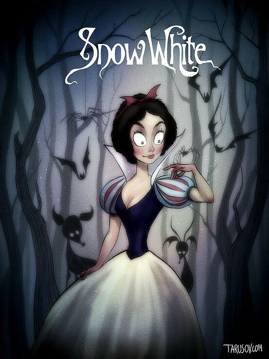 Poster Film Horror Disney 1