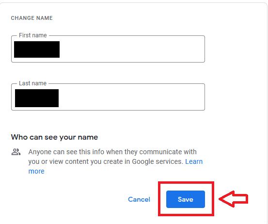 Cara Mengganti Nama Di Google Meet Di Pc Klik Save 89341