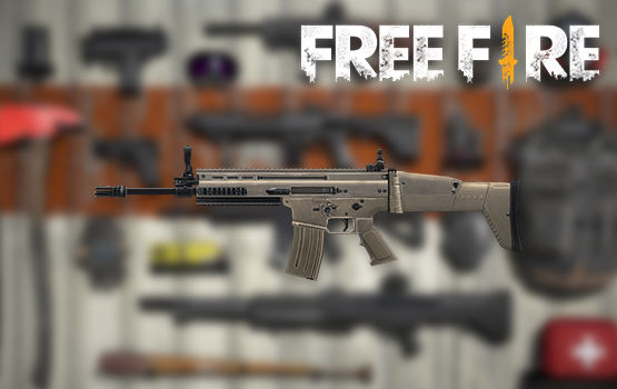 Senjata Terbaik Di FreeFire Scar 3f5c5