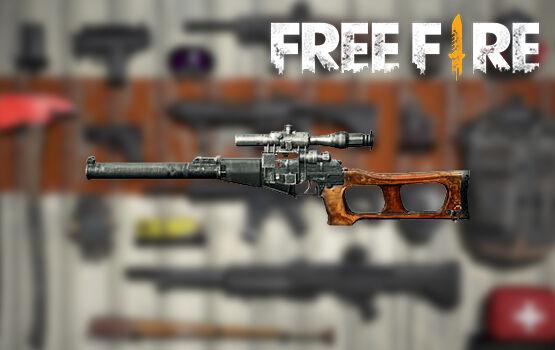 Senjata Terbaik Di FreeFire Vss E4428