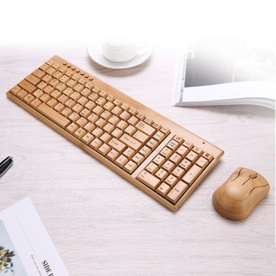 Keyboard Kayu 323fe