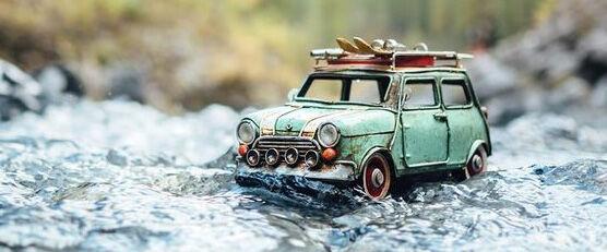 Foto Miniatur Motor Mobil 07