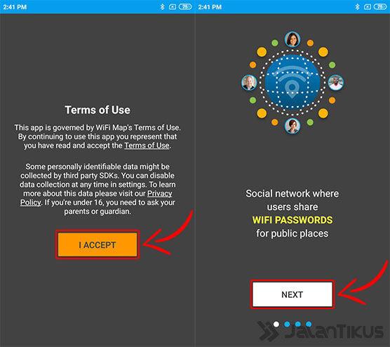 Cara Bobol Password Wifi Map 01 51100