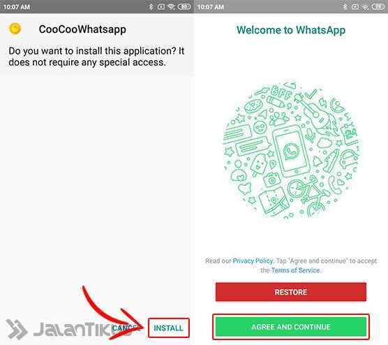 Cara Install Coocoo Whatsapp 01 2b58a
