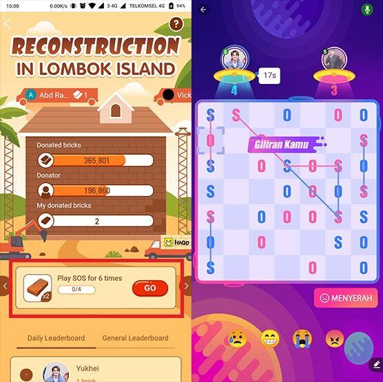 Cara Sumbang Gempa Lombok Dengan Main Game 3 8a7cf