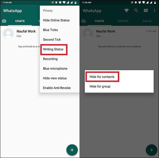 Cara Menyembunyikan Sedang Mengetik Whatsapp 3 50b50
