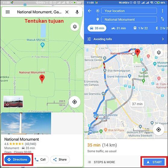 Cara Memutar Musik Google Maps 3 494b0