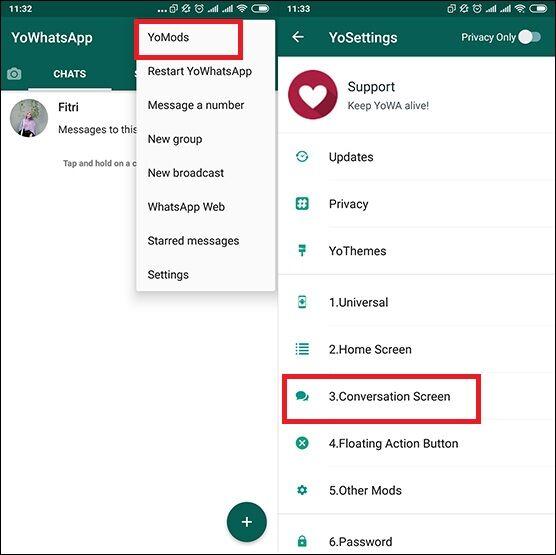 Cara Merubah Tanda Centang Biru Whatsapp Ikon Lucu 2 010f7