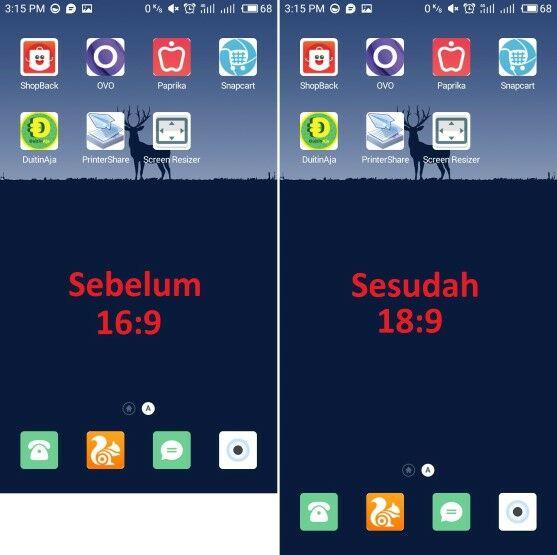 Cara Ubah Layar Smartphone Jadi Full View