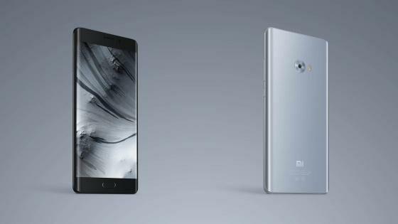Smartphone Android terbaru Xiaomi Mi Note 2