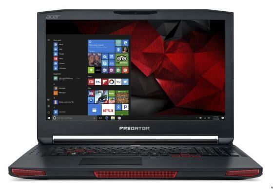 6. Acer Predator 17X - Rp 34 Juta