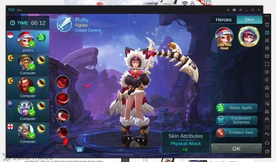 Cara Main Mobile Legend Di Pc Tanpa Lag