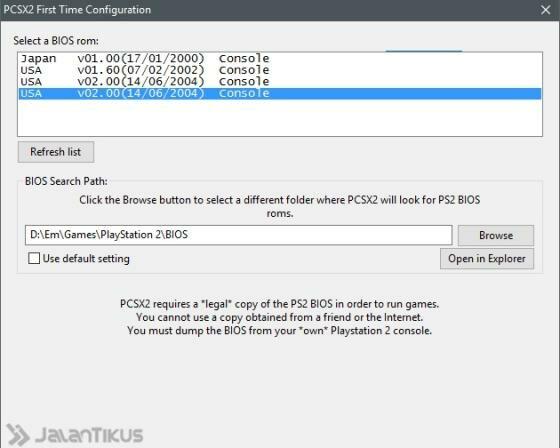 Cara Main Game PlayStation 2 (PS2) di PC atau Laptop Tanpa ...