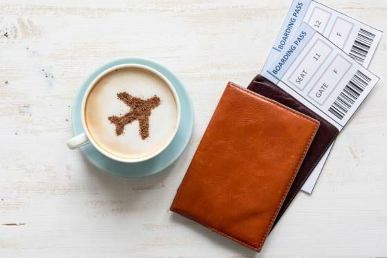 Foto Boarding Pass atau Tiket Pesawat