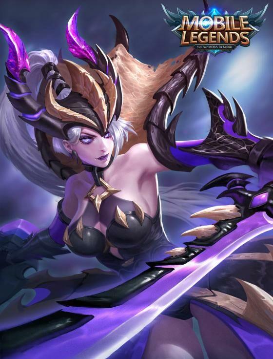 Wallpaper-Mobile-Legends-Freya-Monster-Hunter