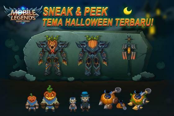 Event Calendar Mobile Legend : Bocoran halloween mobile legends skin epic roger dan
