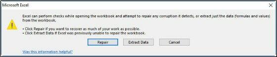 Cara Memperbaiki File Excel 2003 Yang Corrupt A82b8