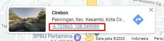Cara Melihat Koordinat Di Google Maps Android 8fbbc