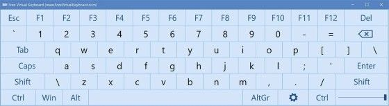 Keyboard Virtual Windows 7 79b1e