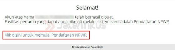 Cara Daftar Npwp Online Pribadi 7fea6
