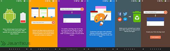 Membuat Web Jadi Aplikasi Android Lite