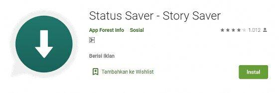Aplikasi Status Saver Story Saver 7c306