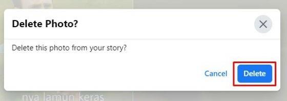 Cara Menghapus Cerita Facebook Dari Arsip 4dc7a