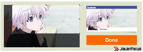 Cara Menyambungkan Foto Cover Dengan Profile Picturre 3