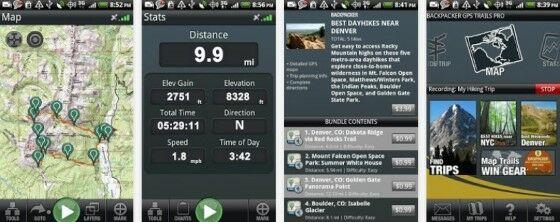 Aplikasi Kesehatan Di Android Backpacker Gps Trails
