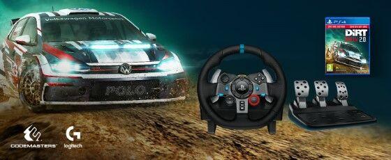 Logitech G29 Driving Force Racing Wheel Custom 2426c