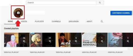 Cara Mengganti Foto Profil Youtube 2020 33673