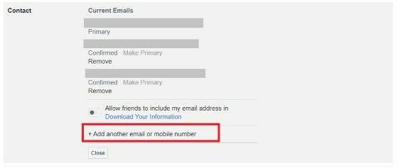 Cara Mengganti Email Facebook Utama 466fc