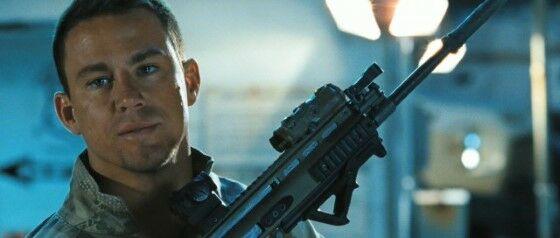 Channing Tatum As Captain Duke Hauser In Bfec0