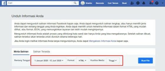 Cara Mengembalikan Pencarian Di Fb Yang Sudah Dihapus Custom 660d6