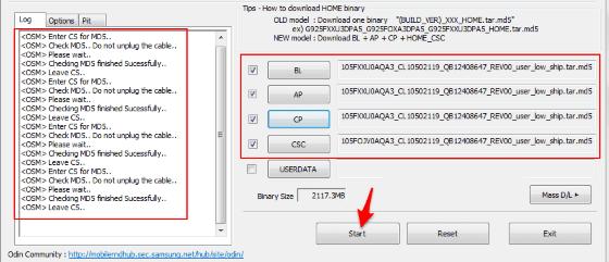 Cara Flash HP Samsung 3d2b2